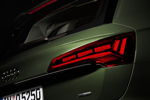 Customisable tail lights from Audi
