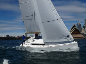 Dufour Yachts on display at the Sydney International Boat Show