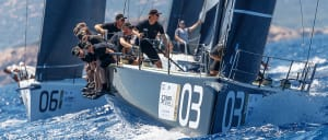Rán Racing on top of 52 Super Series roller coaster