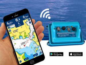 Vesper Marine announces availability on Navionics mobile apps