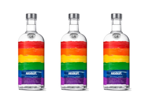 Absolut celebrates Mardi Gras with rainbow bottle