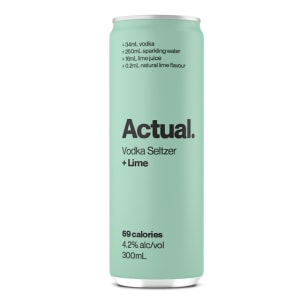 CUB launches hard seltzer brand, Actual