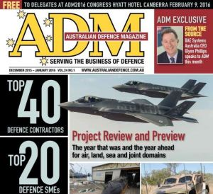 ADM Top 40 Defence Contractors 2015: a growing part of the Australian economy