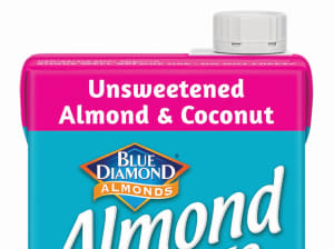 Almond milk company nuts out new look
