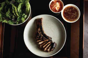 Recipe: Thi Le's pork tomahawk 