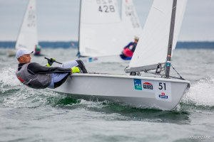 Andre Budzien claims third OK Dinghy world title after dramatic final day