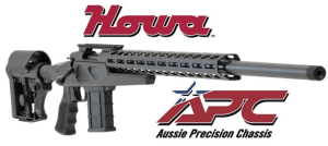 New Howa Aussie Precision Chassis rifle