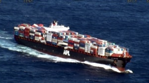 Captain of APL England charged for container spill off NSW coast