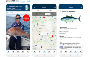 Vic Rec Fishing Guide mobile app updated