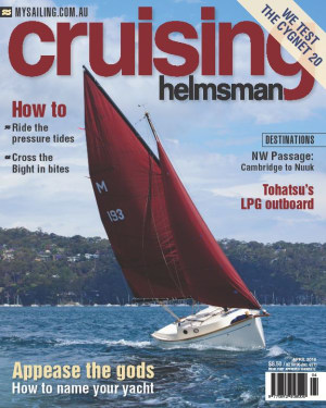 Don't be a fool, get your April copy of Cruising Helmsman now