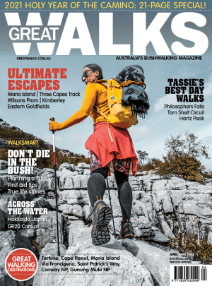 Great Walks Apr-May cover revealed