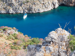 The Greek islands of the Dodecanese Archipelago
