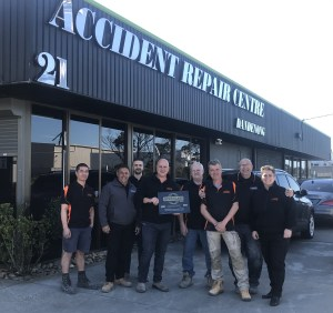 Accident Repair Centre Dandenong strikes Gold