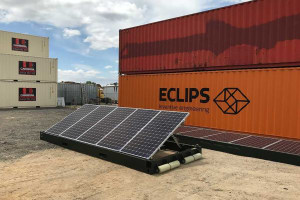 Mobile solar PV to replace diesel generators