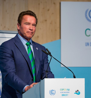 Schwarzenegger Backs Up Cycling Commute Health Statistics