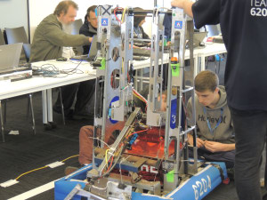 ASC plays host to Robot Rumble for STEM students