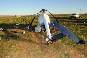 Fuel Exhaustion led to Helicopter Crash near Hawker: ATSB