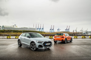 Audi A1 raises benchmark for collision avoidance