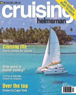 It is all about saving your dollar in the July issue of Cruising Helmsman