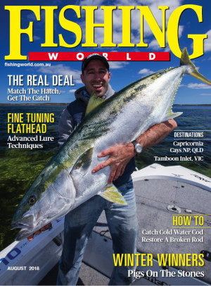 August edition of Fishing World out now!