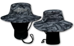 Bigfish's Aus Camo wide brim hat