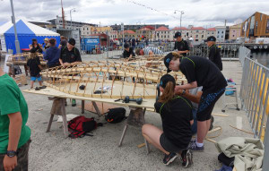 Quick 'n' Dirty Boat Building Challenge at Australian Wooden Boat Festival