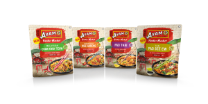 Ayam's street food feel for new sauce design
