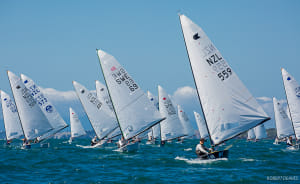 Dan Slater extends on penultimate day at OK Worlds in Auckland