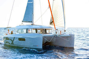 The first Excess catamaran arrives in Australia