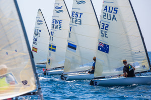 Cardona and Theuninck secure silver and bronze as Finn U23 Worlds concludes in sunny Anzio