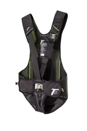Zhik's new ultra-quick release T3 trapeze harness