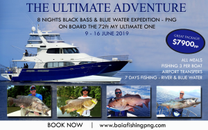 Get Onboard the ultimate adventure in PNG!