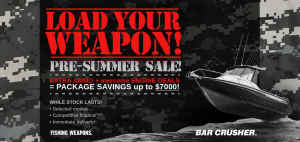 Bar Crusher's pre-summer sale