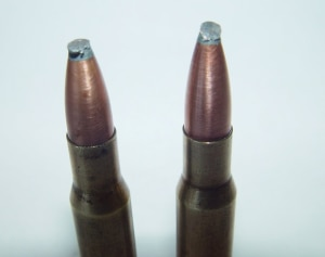 Bullets With Battered tips