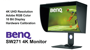 "Review: BENQ SW271 27"" 4K monitor"
