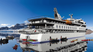 Aurora Expeditions' new ship completes inaugural voyage