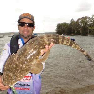 Lake Macquarie's first recaptured trophy flathead