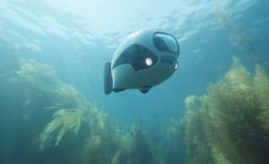 New underwater drone looks and swims like a fish