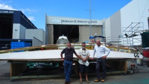 High-tech composites key to champion keelboat's revival