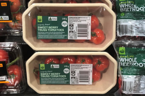 New sustainable pack developed for Woolies tomatoes