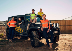 New workwear for female tradies