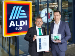 Bitzer commemorates ALDI partnership
