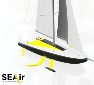 Production 40ft foiling yacht to be released in 2018