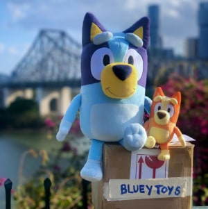 Bluey debut toy line revealed