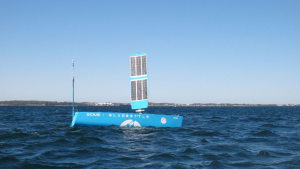 Bob the Bluebottle undergoes sea trials