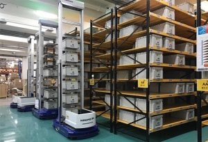 Major eTailer invests in robots for warehouse