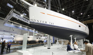 Oyster Yachts halts production