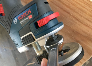 Bosch Cordless Trim Router – GKF 12V-8 Professional