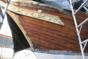 Wright of Passage project heads to MyState Wooden Boat Festival