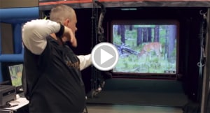 This techno hunt video Game allows you to shoot your own bow